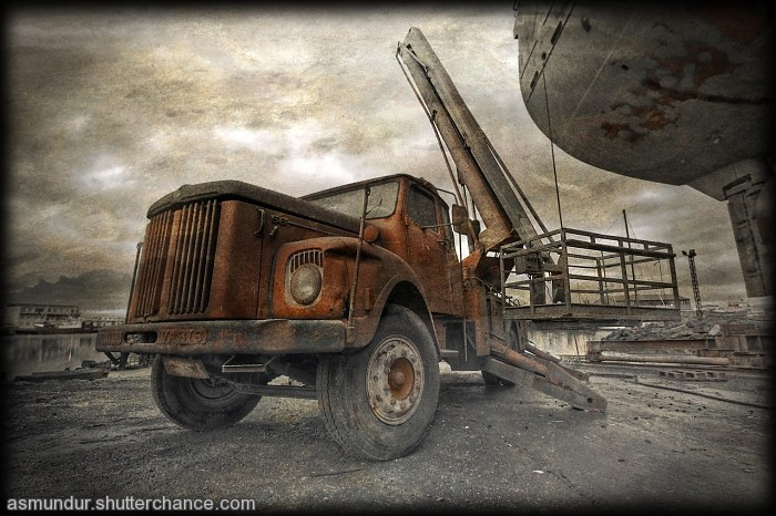 photoblog image Old Scania ...